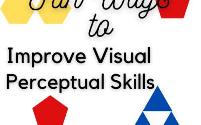 Fun Ways to Improve Visual Perceptual Skills