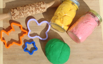 Gluten Free Playdoh Recipe & Calming Activities