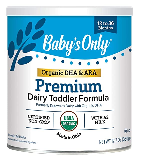 Baby's Only Premium Dairy Toddler Formula