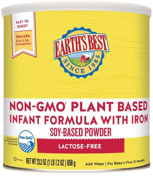 Earth's Best Infant Formula