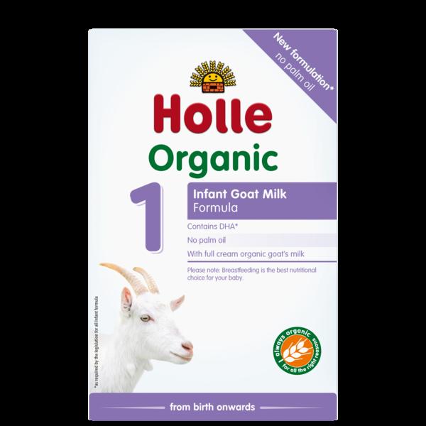 Holle Organic Infant Goat Milk Formula