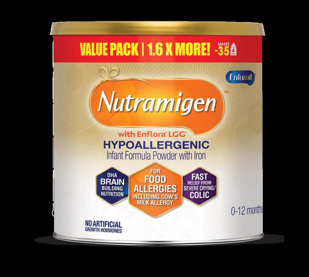 Nutramigen hypoallergenic formula