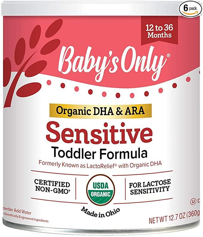 Baby's Only Sensitive Toddler Formula