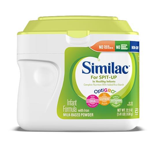 Similac for Spit Up Formula