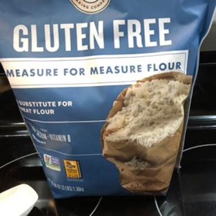 bag of king arthur gluten free flour
