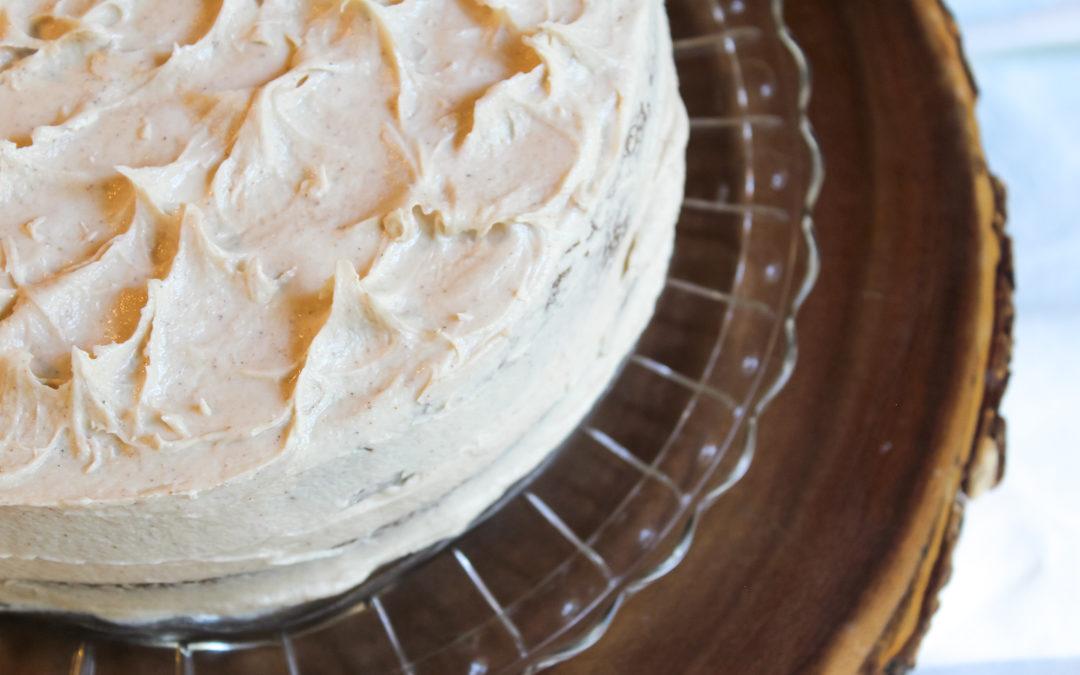 Gluten & Dairy Free Scrumptious Apple Spice Cake