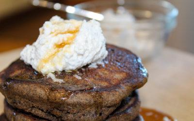 Gluten & Dairy Free Pumpkin Spice Pancake Recipe